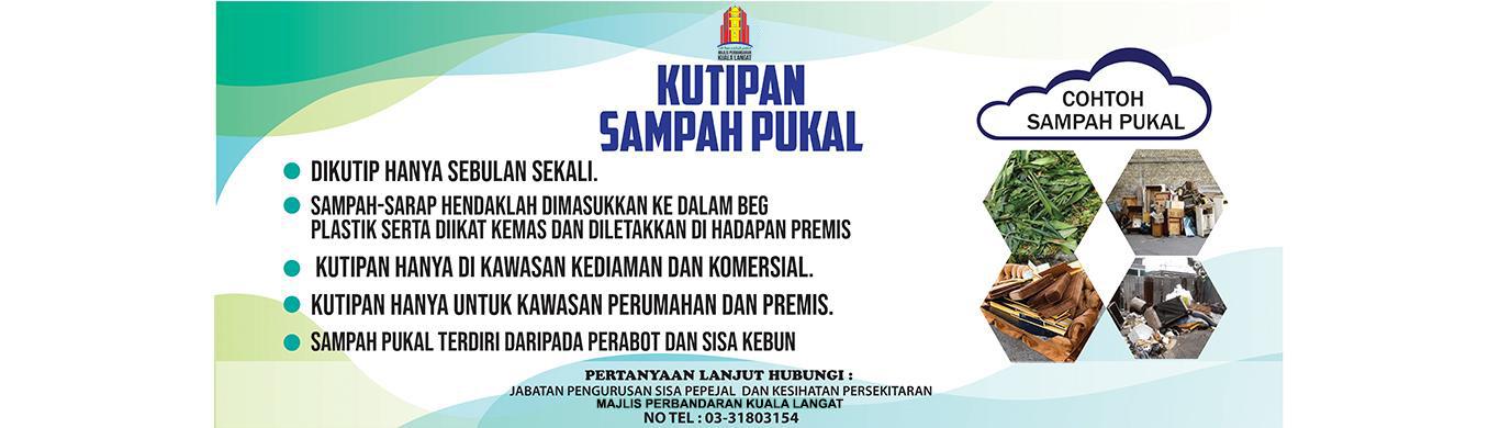 BANNER WEBSITE KUTIPAN SAMPAH PUKAL