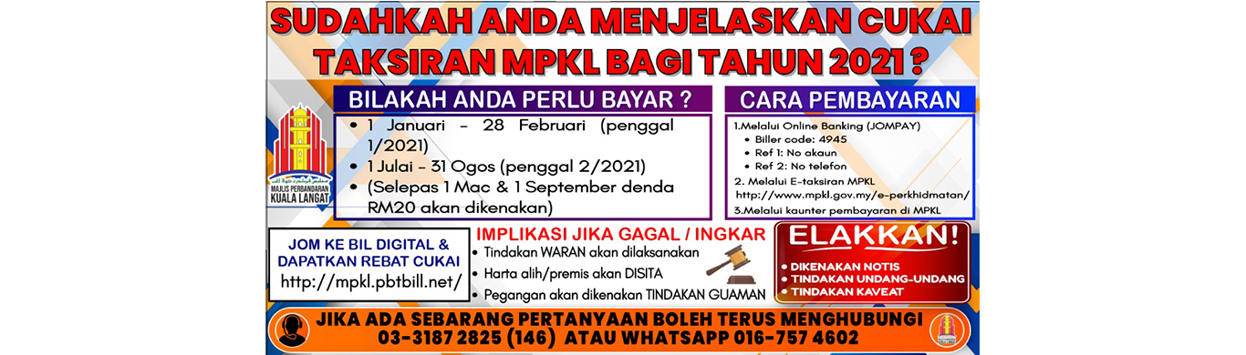 Banner website cukai taksiran 2021