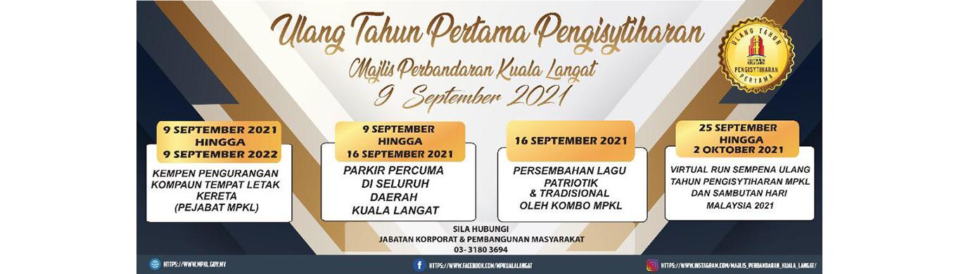 banner website ulang tahun pertama pengisytiharan mpkl 9 sep 2021
